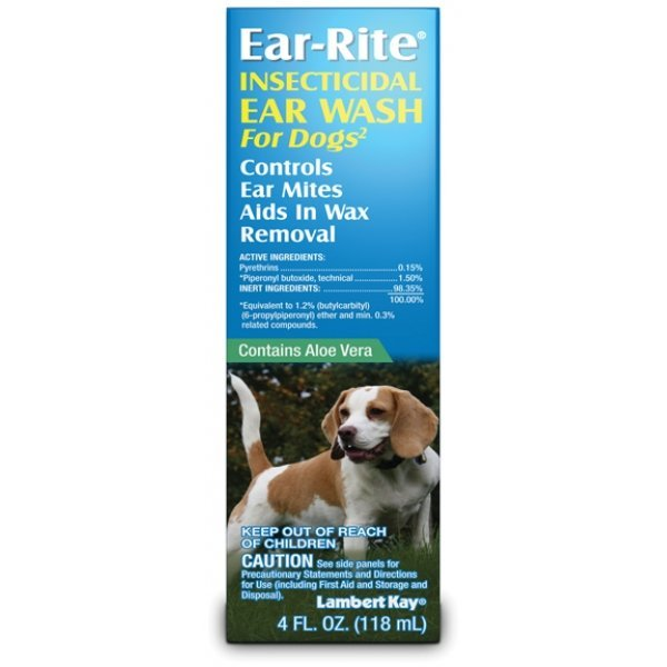 Ear Rite Wash For Dogs 4 Oz.