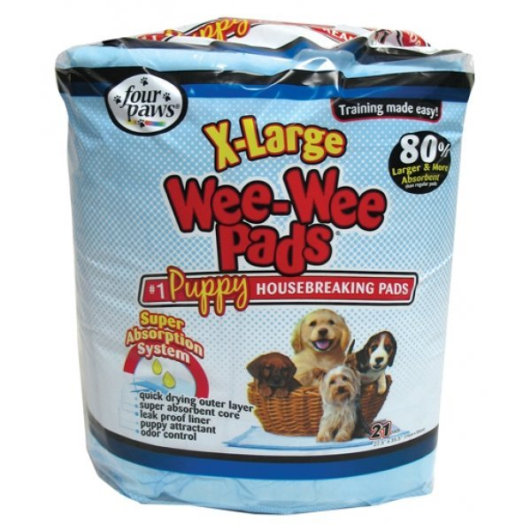 Wee Wee Pads Puppy Housebreaking Pads / Size Xlarge/21pk