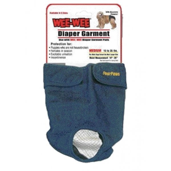 Wee-Wee Dog Diaper Garment / Size (Medium) Best Price
