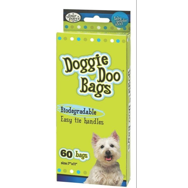 Doggie Doo Bags by Four Paws / Size (60 count) Best Price