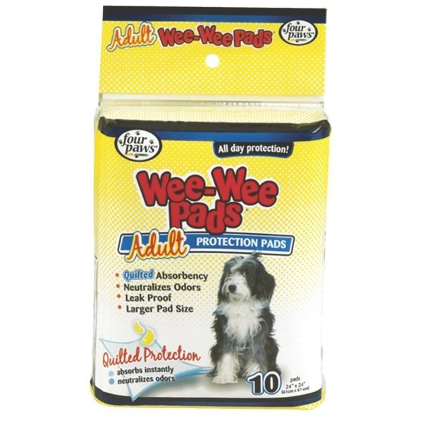 Wee Wee Pads for Adult Dogs / Size (10 ct) Best Price