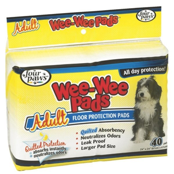 Wee Wee Pads for Adult Dogs / Size (40 ct) Best Price