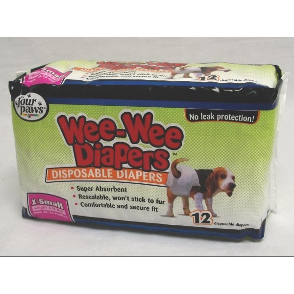 Wee-Wee Disposable Doggie Diapers / Size (XSmall) Best Price