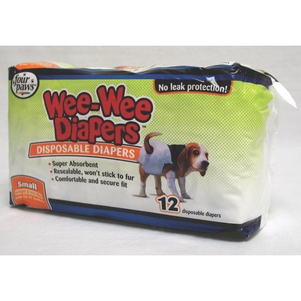 Wee-Wee Disposable Doggie Diapers / Size (Small) Best Price