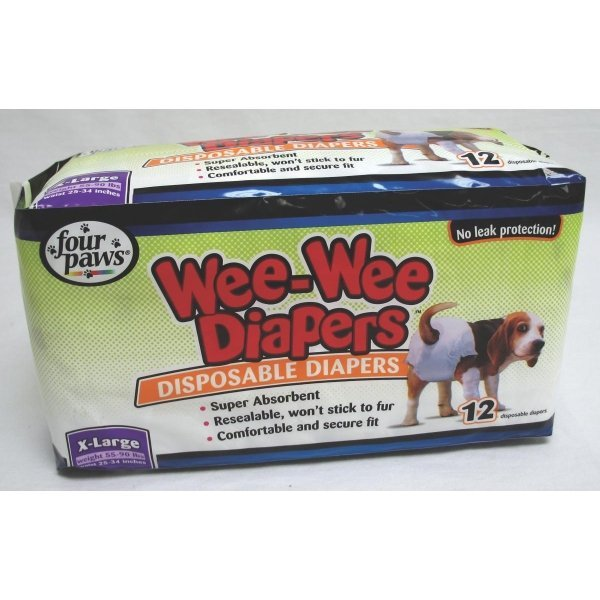 Wee-Wee Disposable Doggie Diapers / Size (XLarge) Best Price