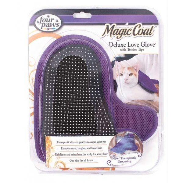 Magic Coat Tender Tip Deluxe Love Glove For Cats Best Price