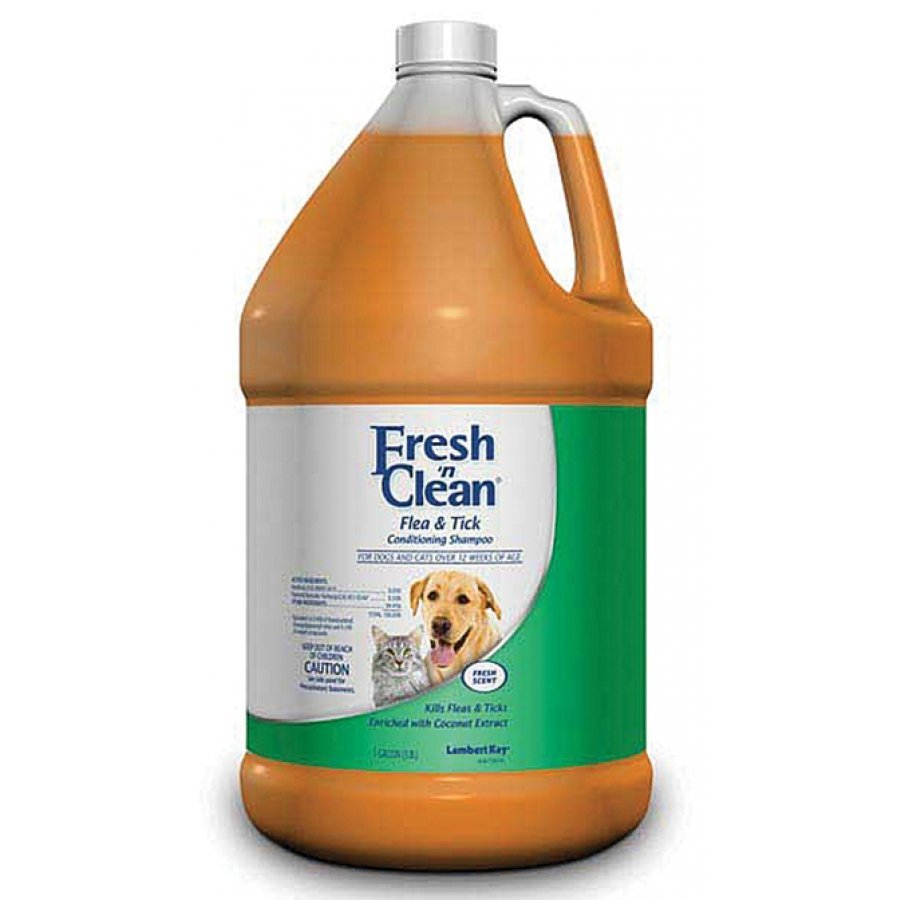 Fresh N Clean Flea and Tick Conditioning Shampoo - 1 gal. Best Price