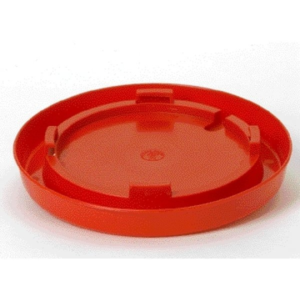 Lug Style Waterer Base for Poultry - Red / Gallon Best Price