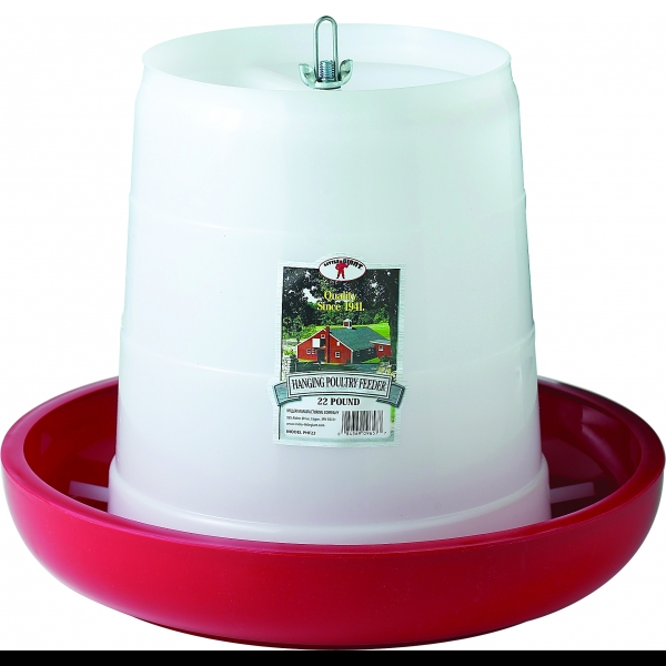 Hanging Chicken and Poultry Feeder / Size (22 lbs.) Best Price