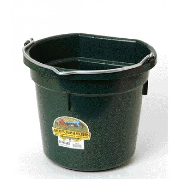 20 Quart Flatback Bucket / Color (Green) Best Price