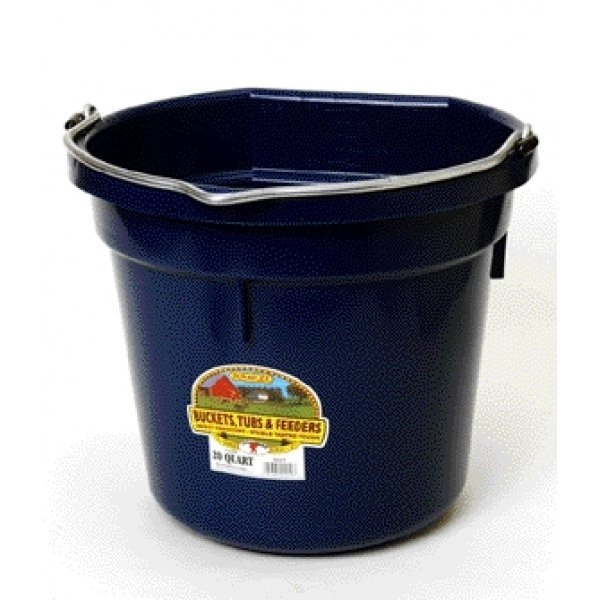 20 Quart Flatback Bucket / Color (Navy) Best Price