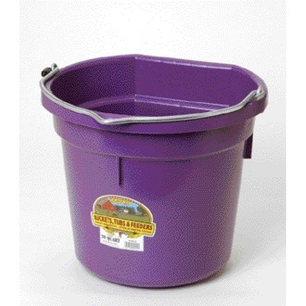 20 Quart Flatback Bucket / Color (Purple) Best Price