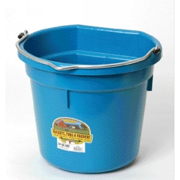 20 Quart Flatback Bucket / Color (Teal)