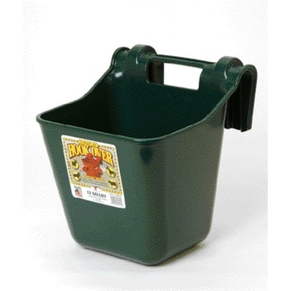 Hook Over Pail Feeder 12 qt. / Color (Green) Best Price