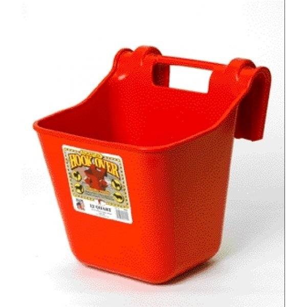 Hook Over Pail Feeder 12 qt. / Color (Red) Best Price