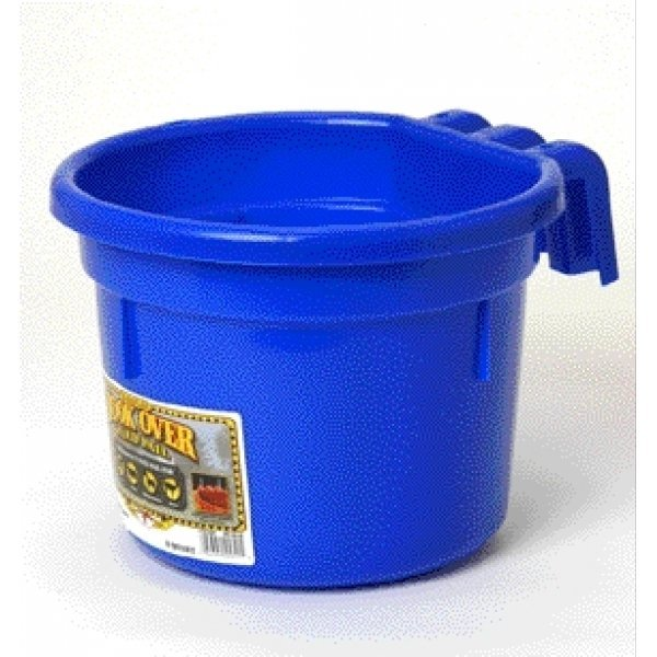 Hook Over Pail for Livestock Watering / Color (Blue) Best Price