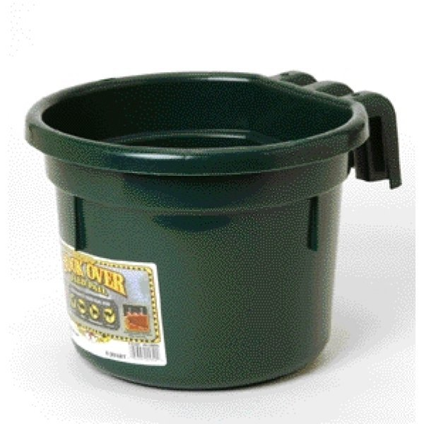 Hook Over Pail for Livestock Watering / Color (Green) Best Price