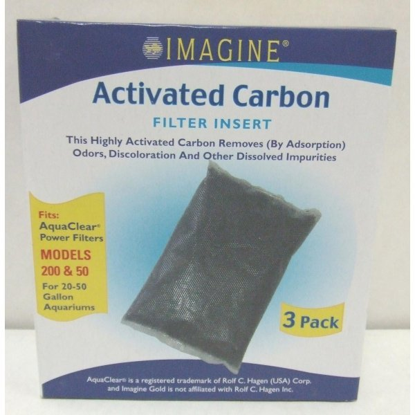 Activated Carbon Filter / Model (Aqua Clear 50 / 3 pack) Best Price