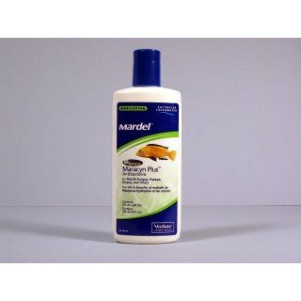 Maracyn Plus Antibacterial Biospheres For Fish / Size 8 Oz.