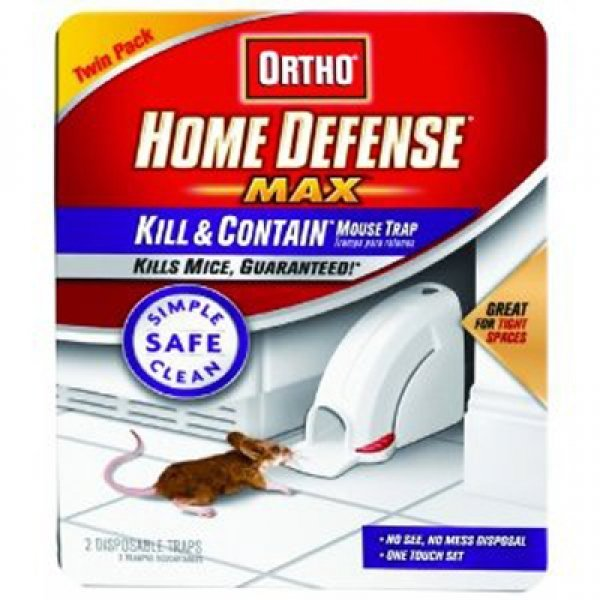 Home Defense Kill and Contain Mouse Trap 2 pk. (Case of 8) Best Price