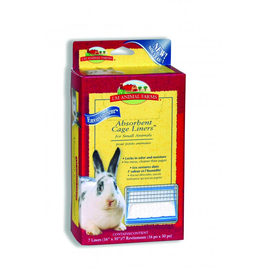 Absorbent Cage Liners For Small Animals Large