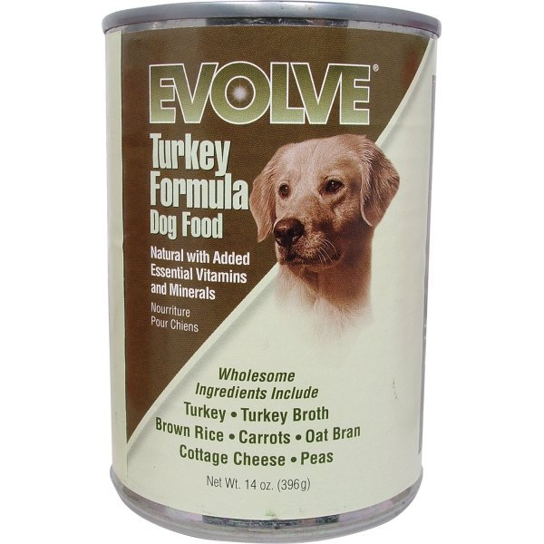 Evolve Canned Dog Food 14 oz.  / Flavor (Turkey) Best Price
