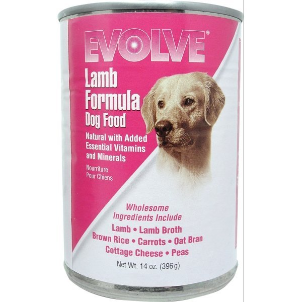Evolve Canned Dog Food 14 oz.  / Flavor (Lamb) Best Price