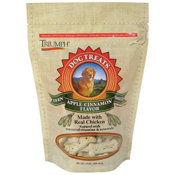 Triumph Dog Biscuits 24 Oz. / Flavor Apple Cinnamon