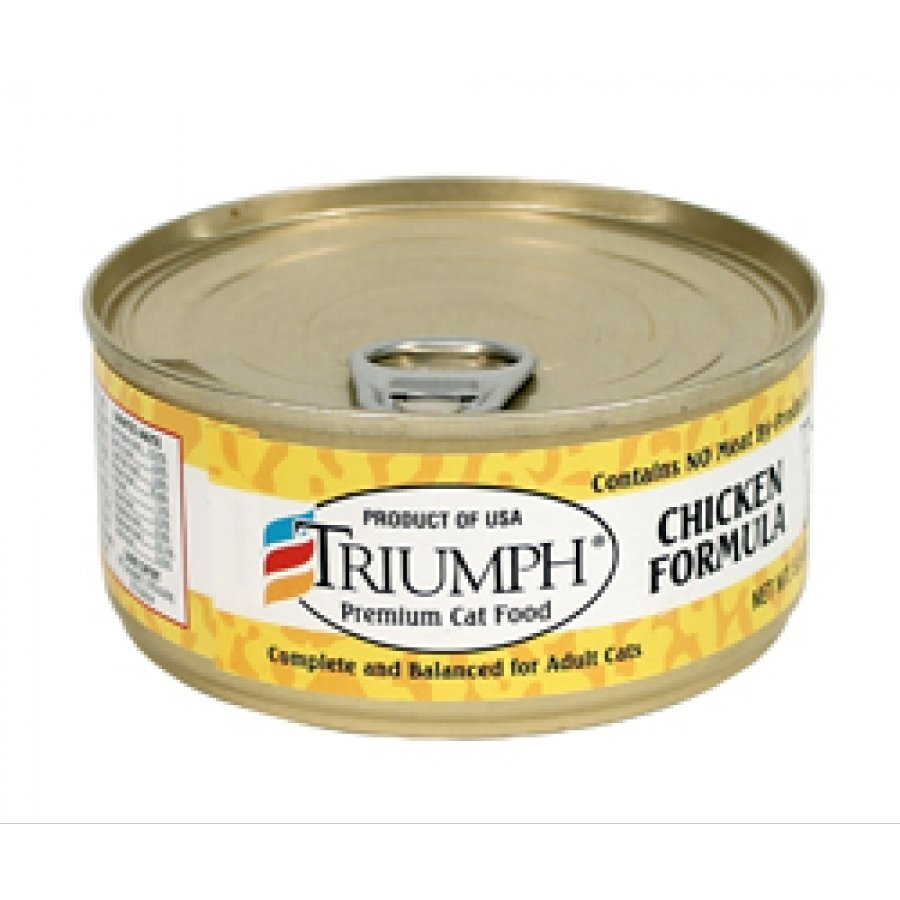 Triumph Canned Cat Food - Chicken 5.5 oz. each (Case of 24) Best Price