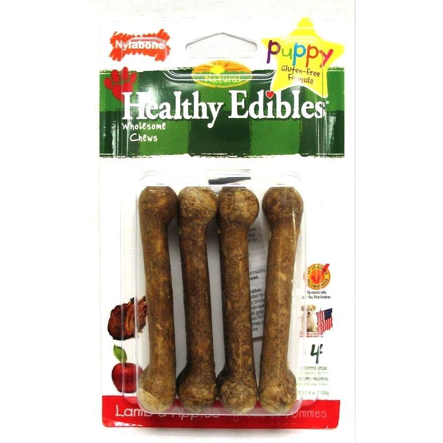Puppy Healthy Edibles Treat / Size Petite Lamb Apple