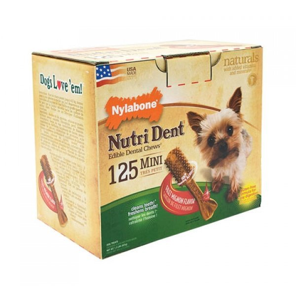 Nutri Dent Pantry Pack / Size (Filet Mignon / Mini / 125 ct)