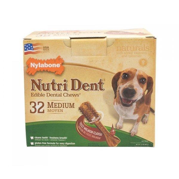 Nutri Dent Pantry Pack / Size Filet Mignon / Med / 32 Ct