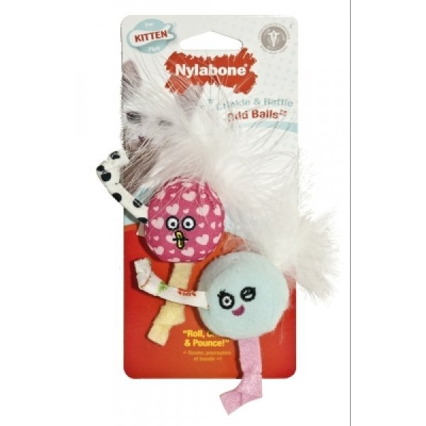 Kitten Crinkle and Rattle Odd Balls Best Price