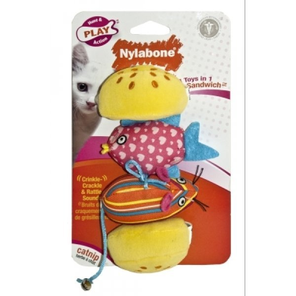 Cat Silly Sandwich 4-toys-in-1 Best Price