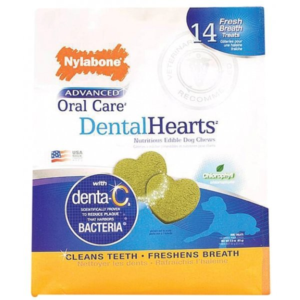Advanced Oral Care Dental Hearts Treats - 14 ct. Best Price