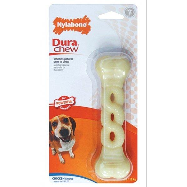 Dura Chew Braid Dog Toy Bacon / Wolf