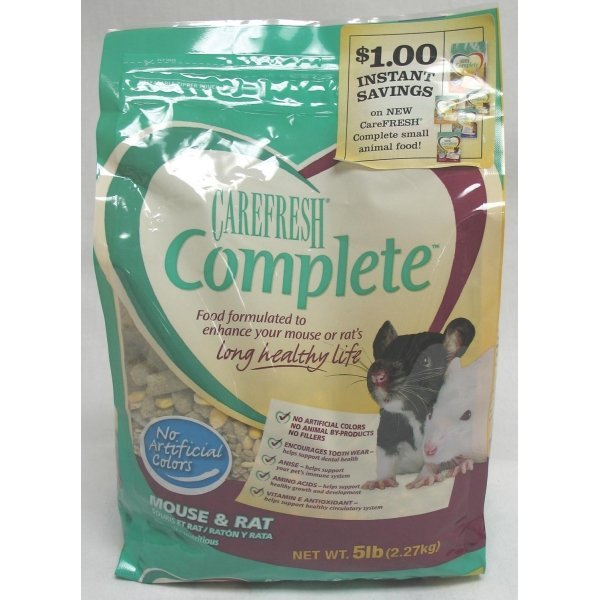 CareFRESH Complete Food for Mice and Rats / Size (5 lb)