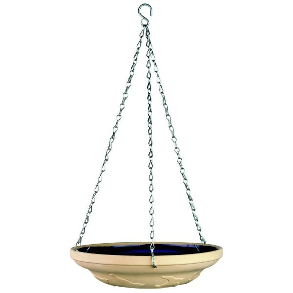 Glazed Bird Bath - Terracotta / 10 in. Best Price