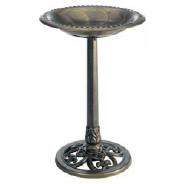 Gardman Pedestal Bird Bath / Color (Antique Bronze) Best Price