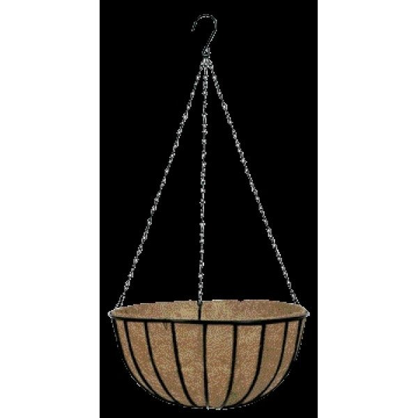 Gardman Black Traditional Hanging Basket / Size (14 in.) Best Price