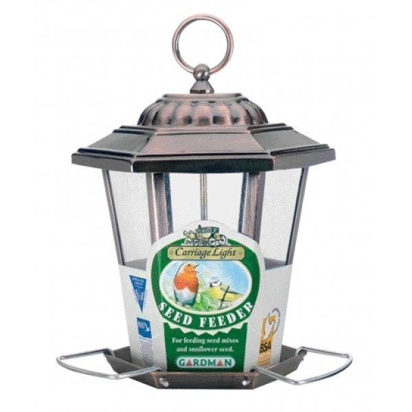 Carriage Light Seed Wild Bird Feeder / Size (Antique) Best Price