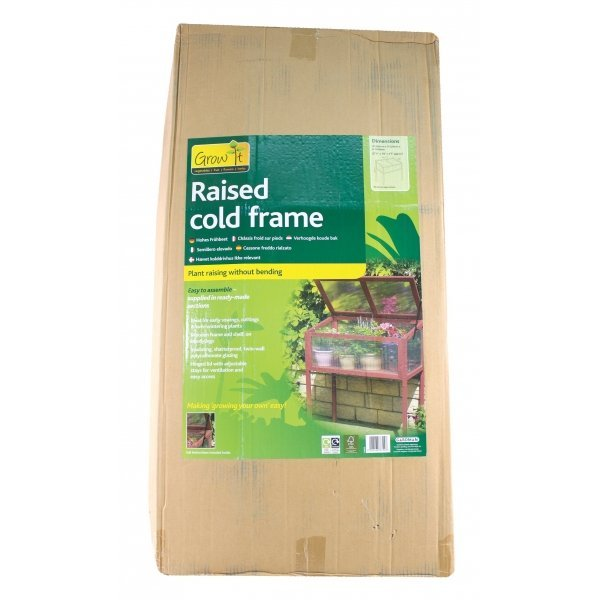 Raised Wooden Cold Frame Greenhouse Best Price