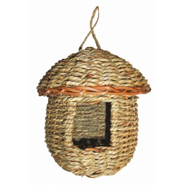 Woven Rope Acorn With Roof Roosting Pocket Best Price