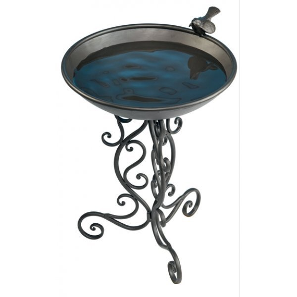 Ornate Metal Bird Bath Best Price