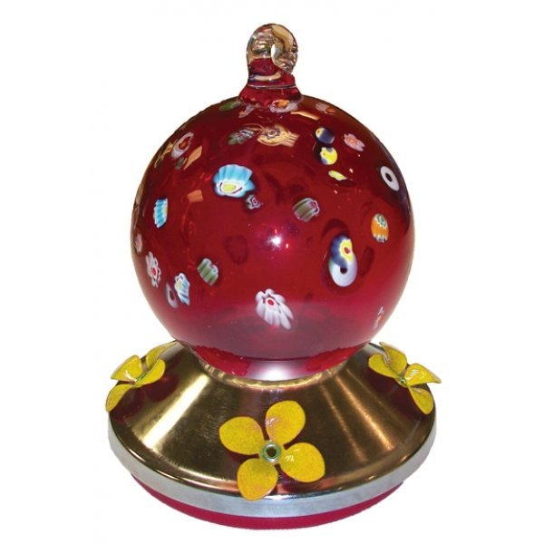 Ball Hummingbird Feeder With Metal Base Best Price