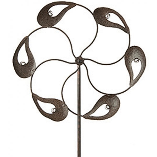 Ashcroft Wind-spinner Border Stake