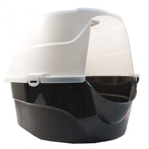 Advanced Oval Hooded Litter Box