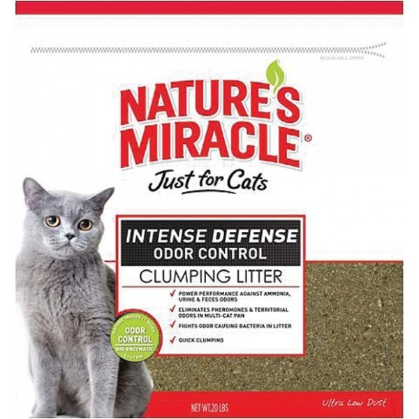Just For Cats Intense Defense Clumping Litter 40 Lb.