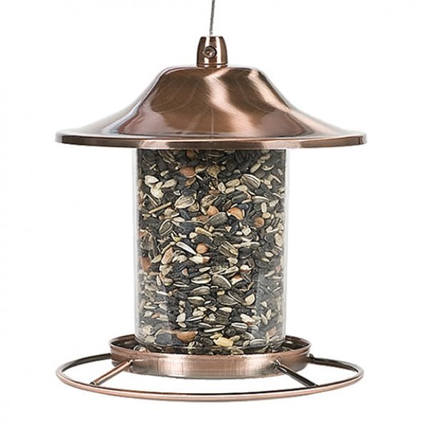 Copper Panorama Bird Feeder - 2 lb. Best Price