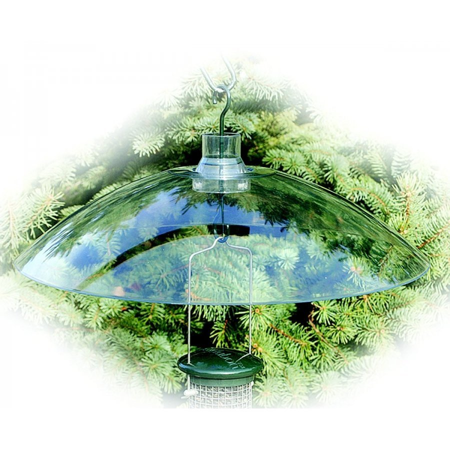 Clear Hang Or Mount Baffle For Bird Feeders 16 In Wild